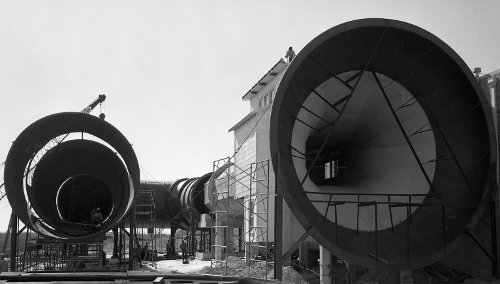 Wind Tunnel Construction by Cushing Memorial Library and Archives, Texas A&M, on Flickr